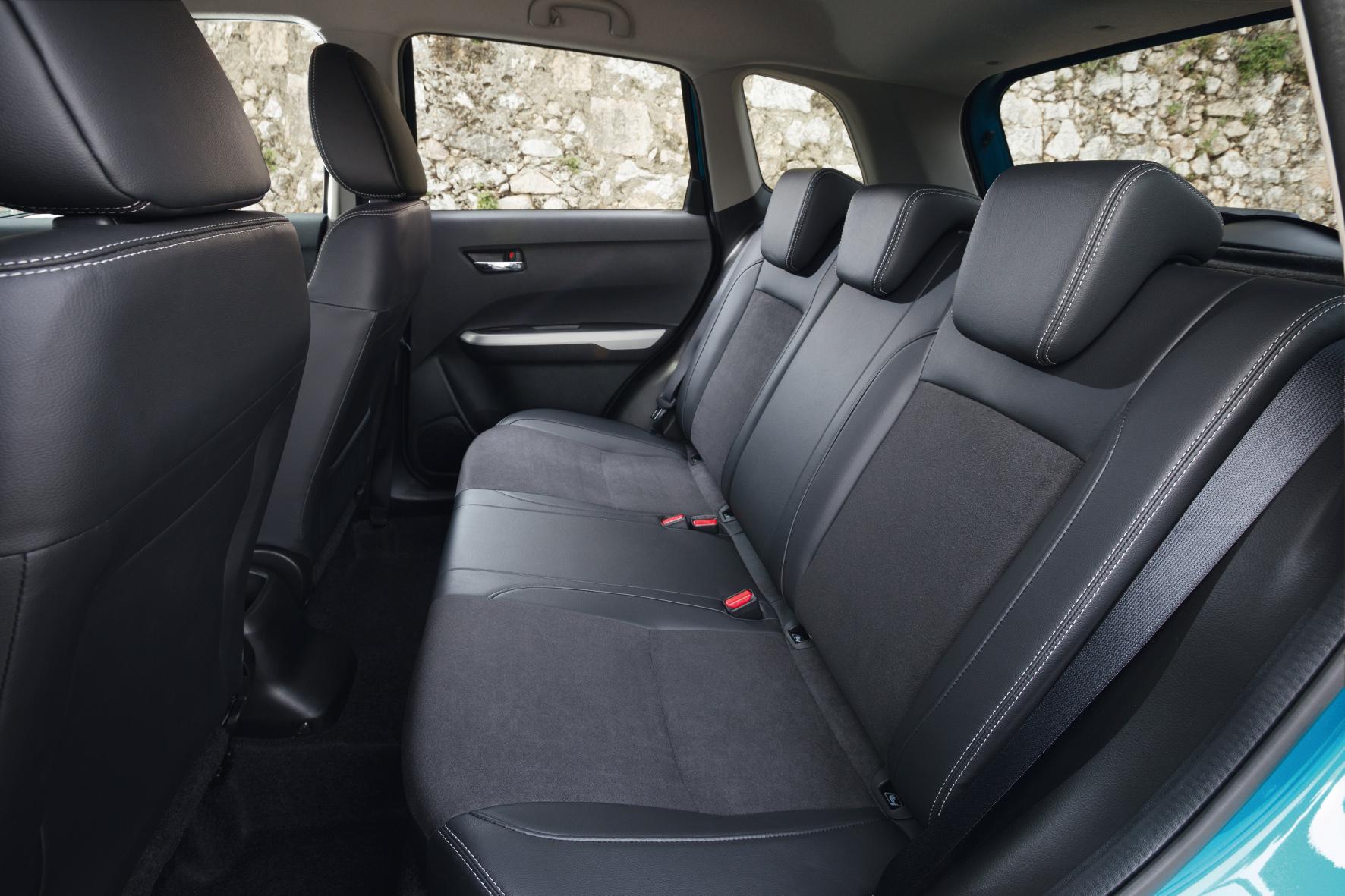 Das Platzangebot im Suzuki Vitara ist auch im Fond ordentlich.