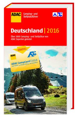 Der ADAC Camping- und Stellplatzführer Deutschland 2016 enthält Informationen zu bundesweit 3.800 Anlaufstellen für Caravaning-Freunde.