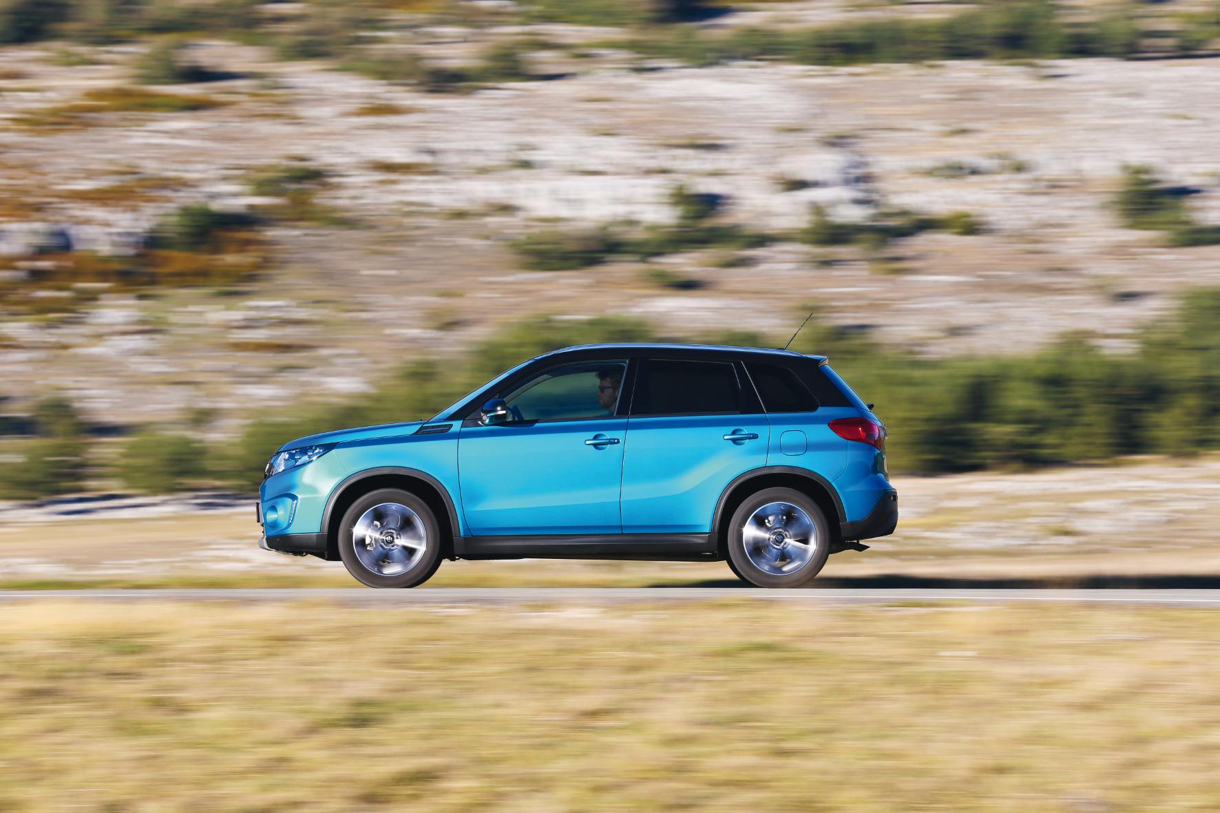 Überzeugend: Der 120-PS-Dieselmotor des Suzuki Vitara ist laufruhig, durchzugsstark und mit 6,2 Liter Testverbrauch zudem sparsam.