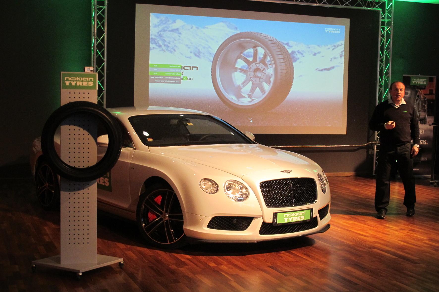 Neuer Winterreifen vom nördlichsten Reifenhersteller der Welt: Nokian präsentiert den WR A4 für leistungsstarke Fahrzeuge.