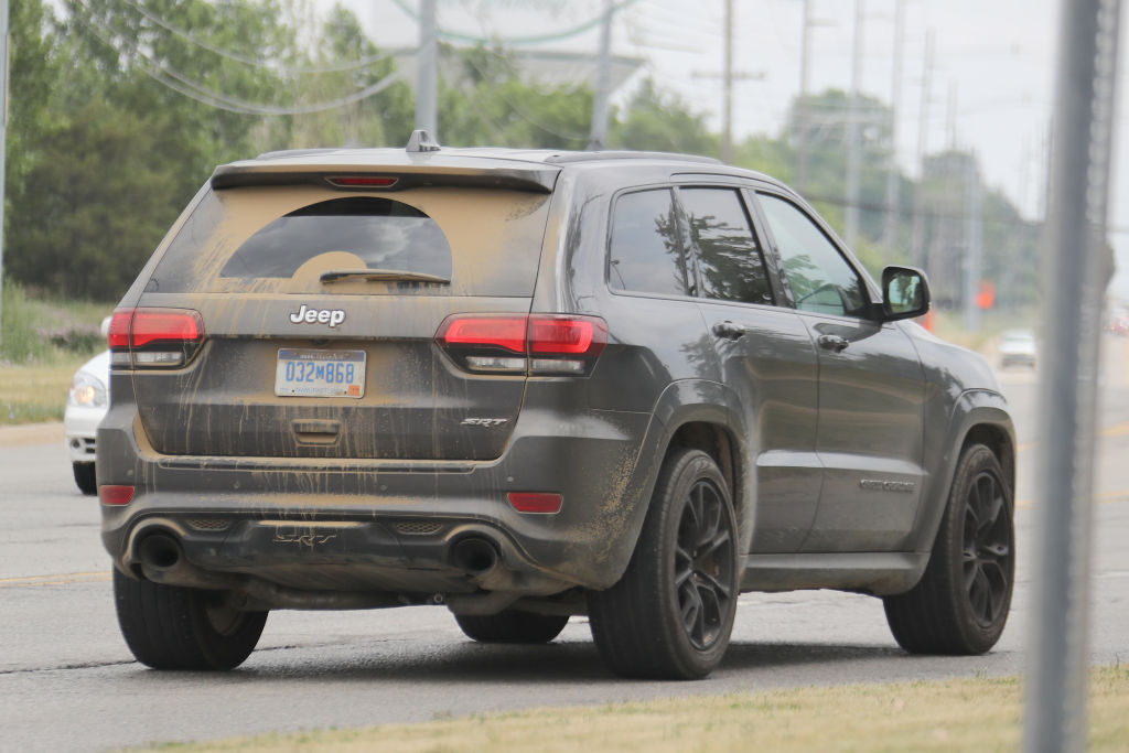 Jeep Grand Cherokee Trackhawk: Hellcat inside!