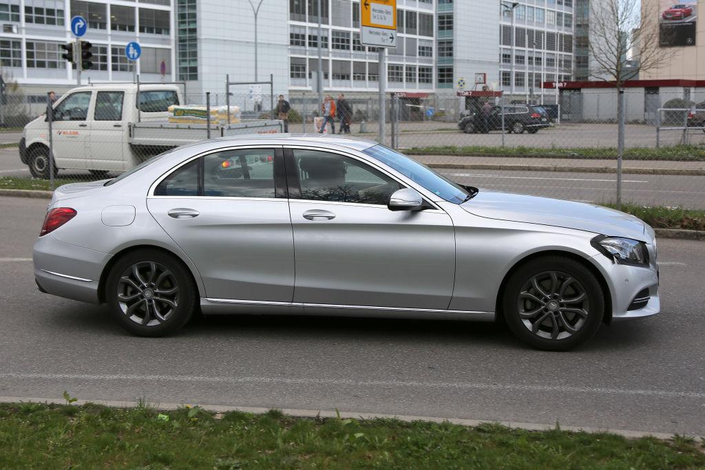 Mercedes-Benz C-Klasse Facelift 2017