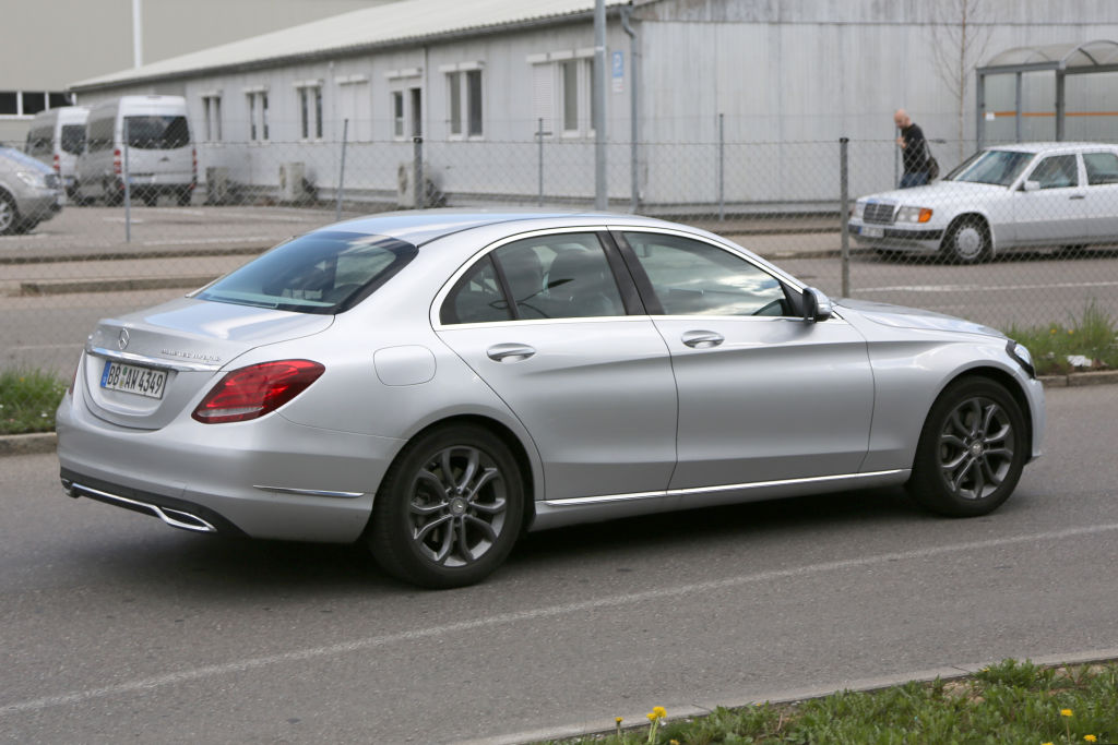 Mercedes-Benz C-Klasse Facelift 2017