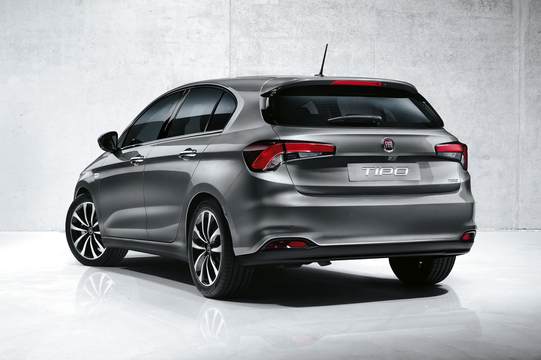 Typisch Tipo: Die Schrägheckversion des preisgünstigen Fiat wird bei uns wohl das meistverkaufte Modell werden.