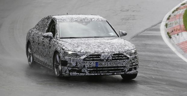 Erlkönig Audi A8 2016