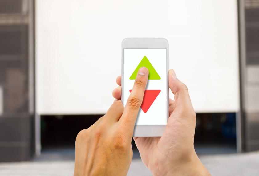 Der digitale Wandel: Apps für Garagentore