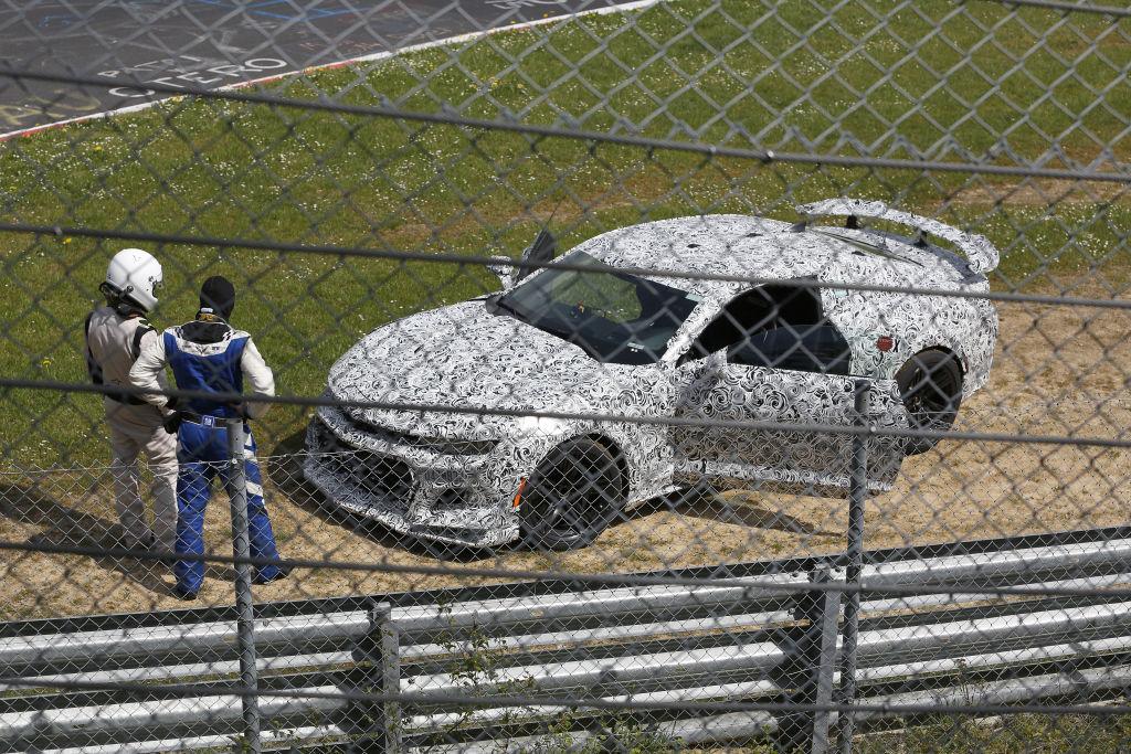 Crash Erlkönig Chevrolet Camaro Z/28