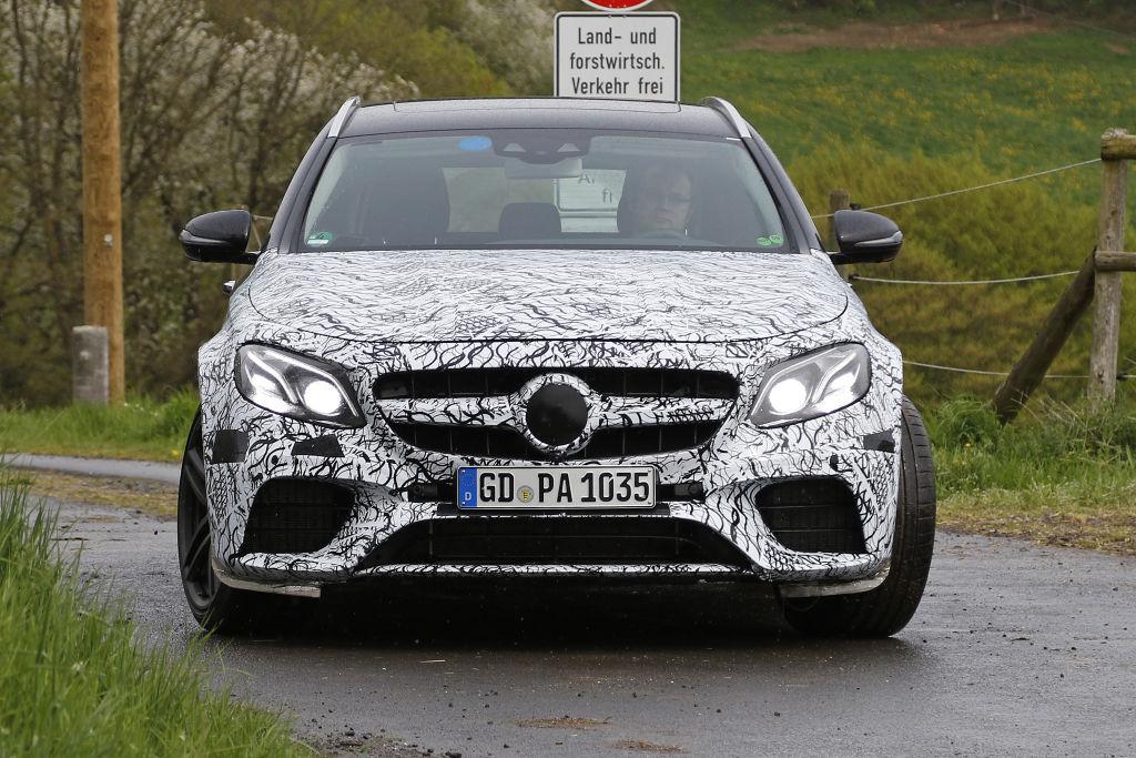 Erlkönig Mercedes-AMG E63 T-Modell