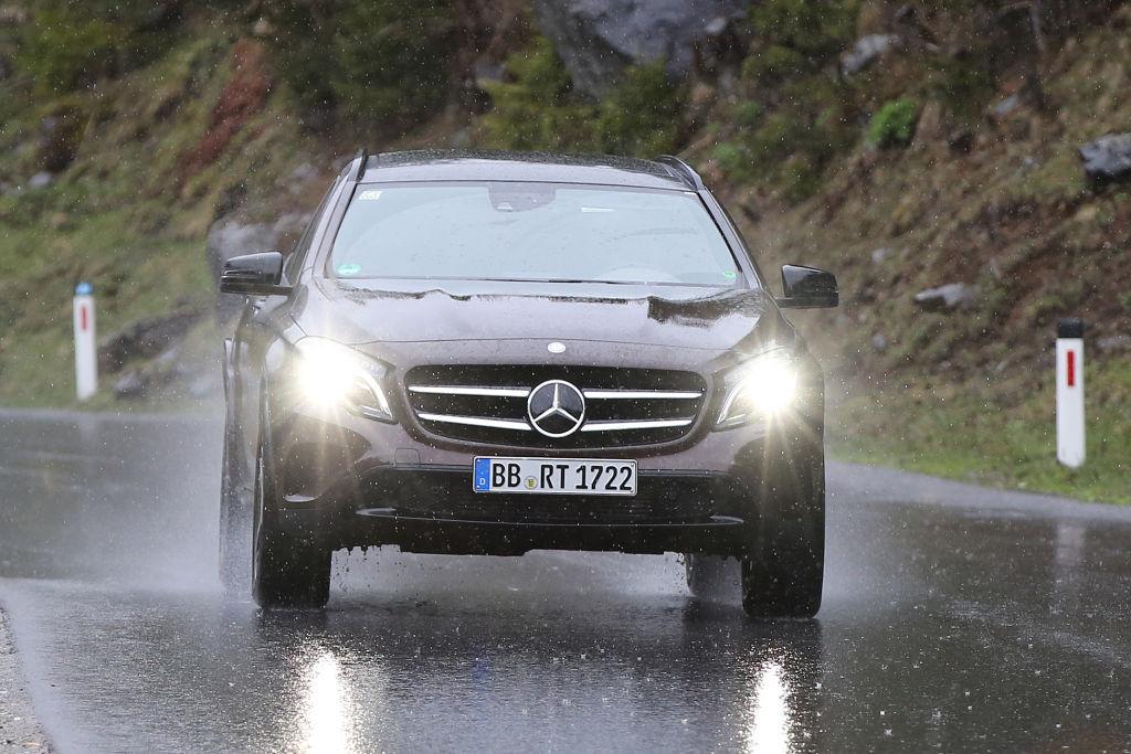 Versuchsträger: Mercedes-Benz GLB 2019