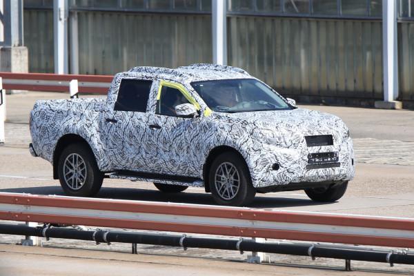 Mercedes-Benz GLT Erlkönig