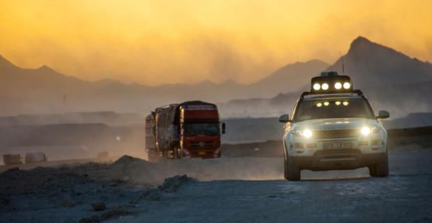Land Rover Experience Tour 2013 auf dem Dach der Welt