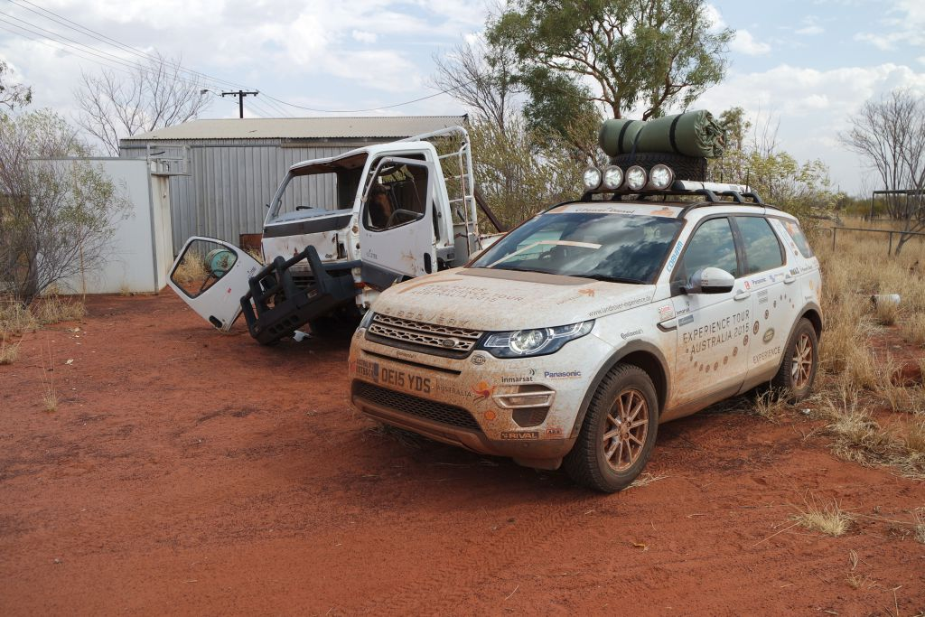 Land Rover Experience Australia 2015: Einer kam durch - wir in Land Rover Discovery Sport