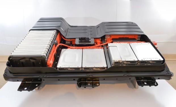 Batterie des Nissan Leaf