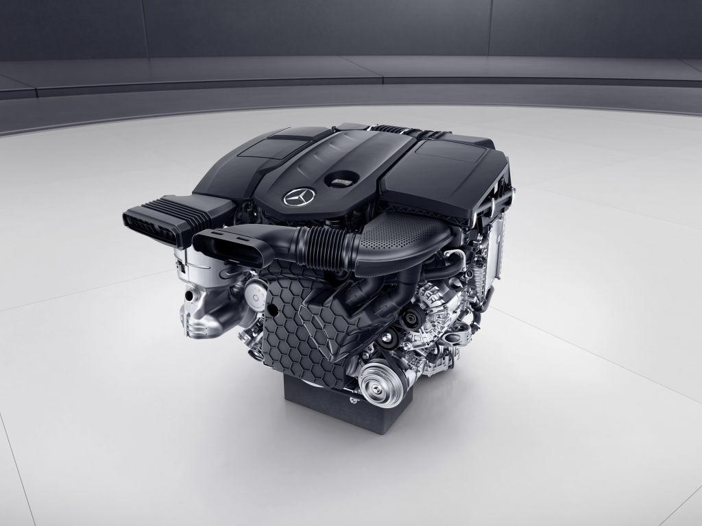 Vollaluminium-Diesel OM 654 von Mercedes-Benz