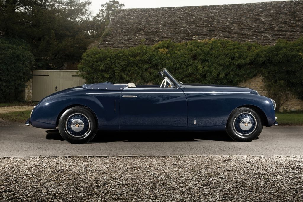 Bristol 400 Cabriolet von Pininfarina (1947)