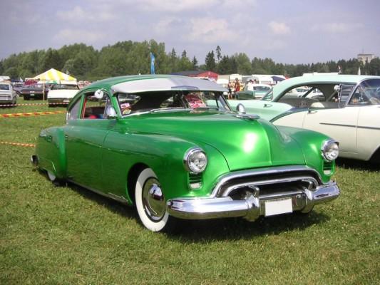 Richard M. Nixon fuhr einen Oldmobile 98 von 1950