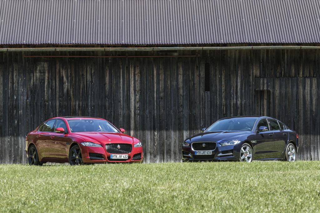 Jaguar XF und Jaguar XE mit Allrad