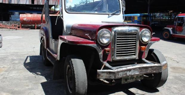 Zu Besuch im Jeepney-Land: Ein neuer Jeepney im Frühstadium