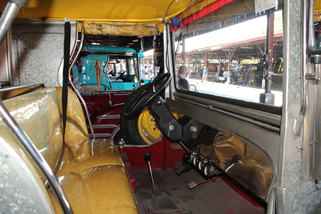Zu Besuch im Jeepney-Land: Blick in das frugale
