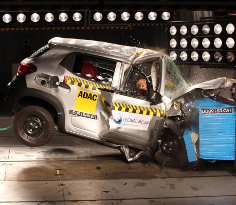 Renault Kwid I im Global-NCAP-Crashtest