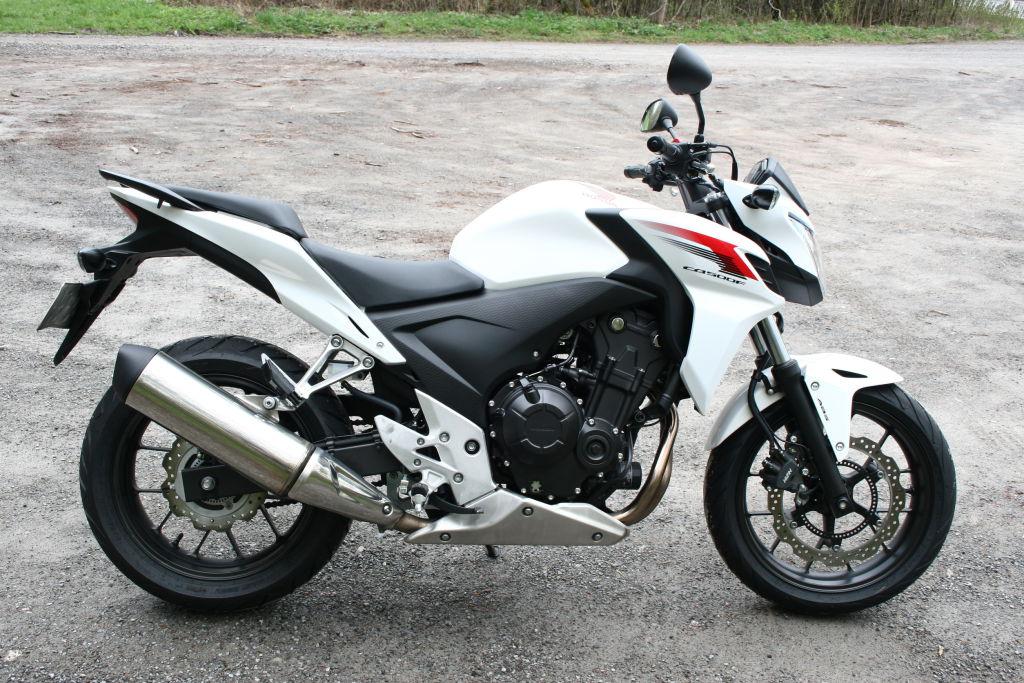 Die Vorgängerin: Honda CB 500 F von 2013