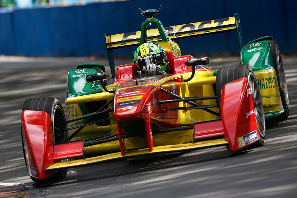 Formel-E-Renner des Teams Abt Schaeffler Audi Sport
