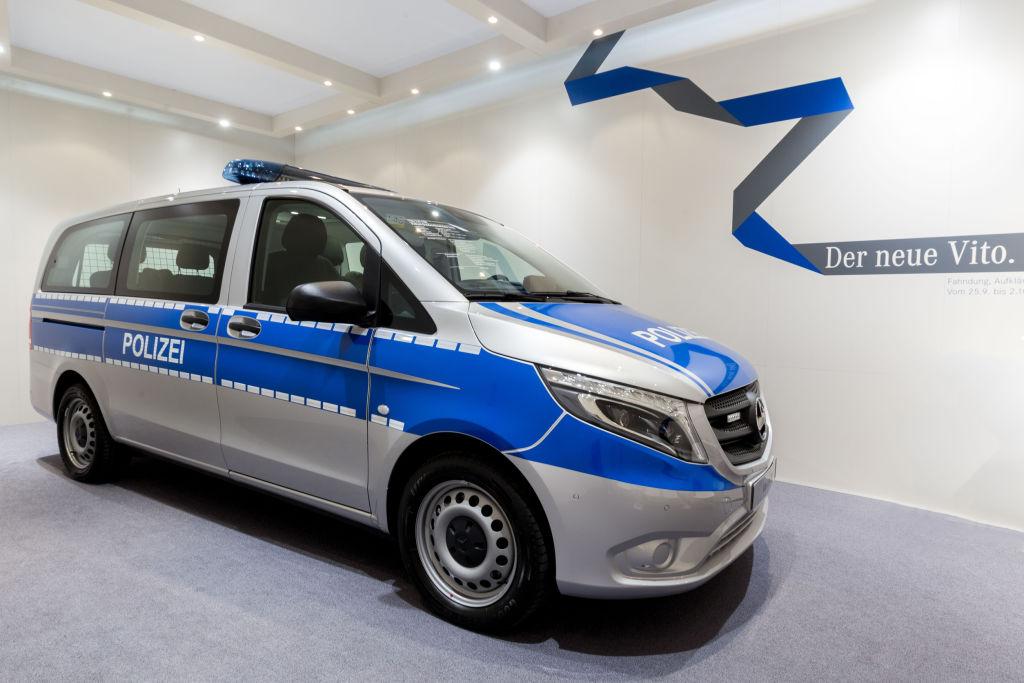 Mercedes-Benz Vito Tourer Pro 119 als Polizei-Einsatzfahrzeug