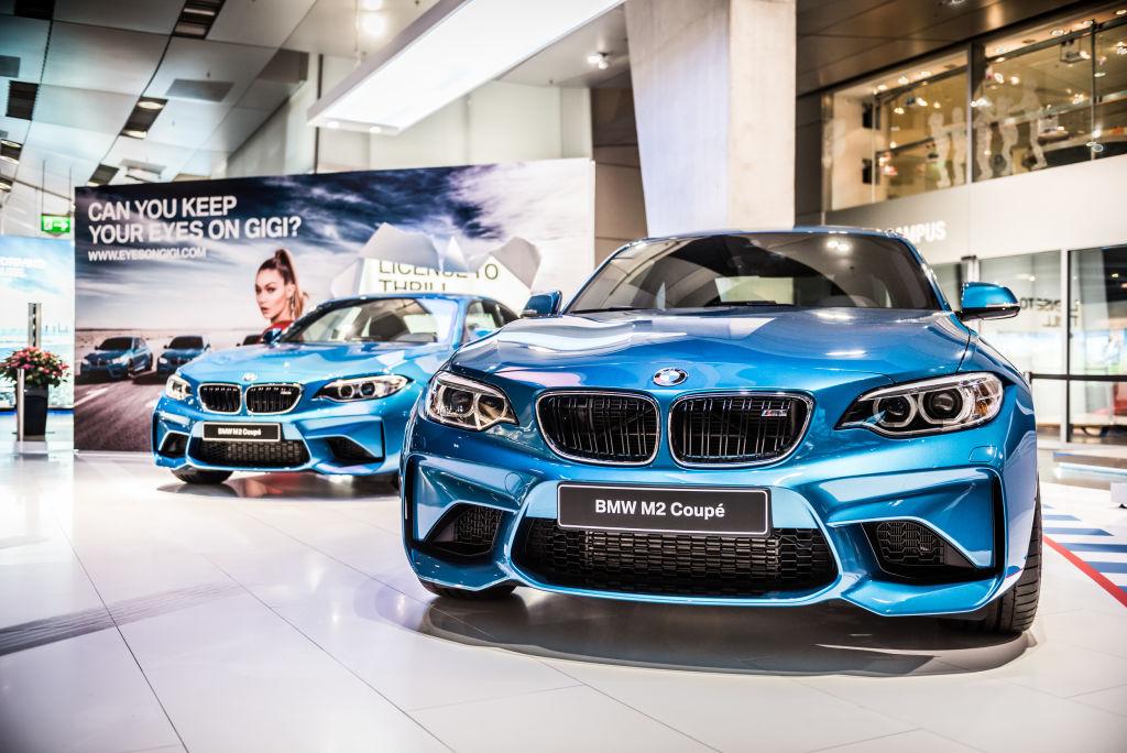 In der Automobilausliefrung der BMW-Welt wurden an einem Tag 73 M-Fahrzeuge abgeholt