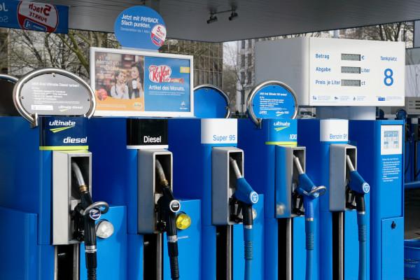 Kraftstoffpreise sinken leicht