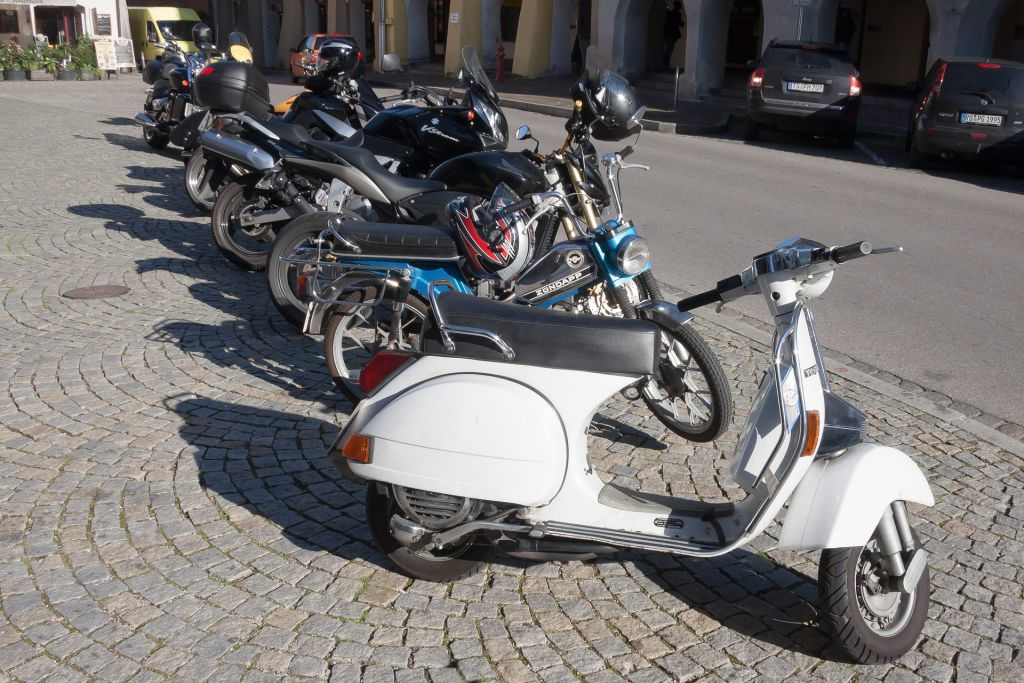 Motor-Scooter