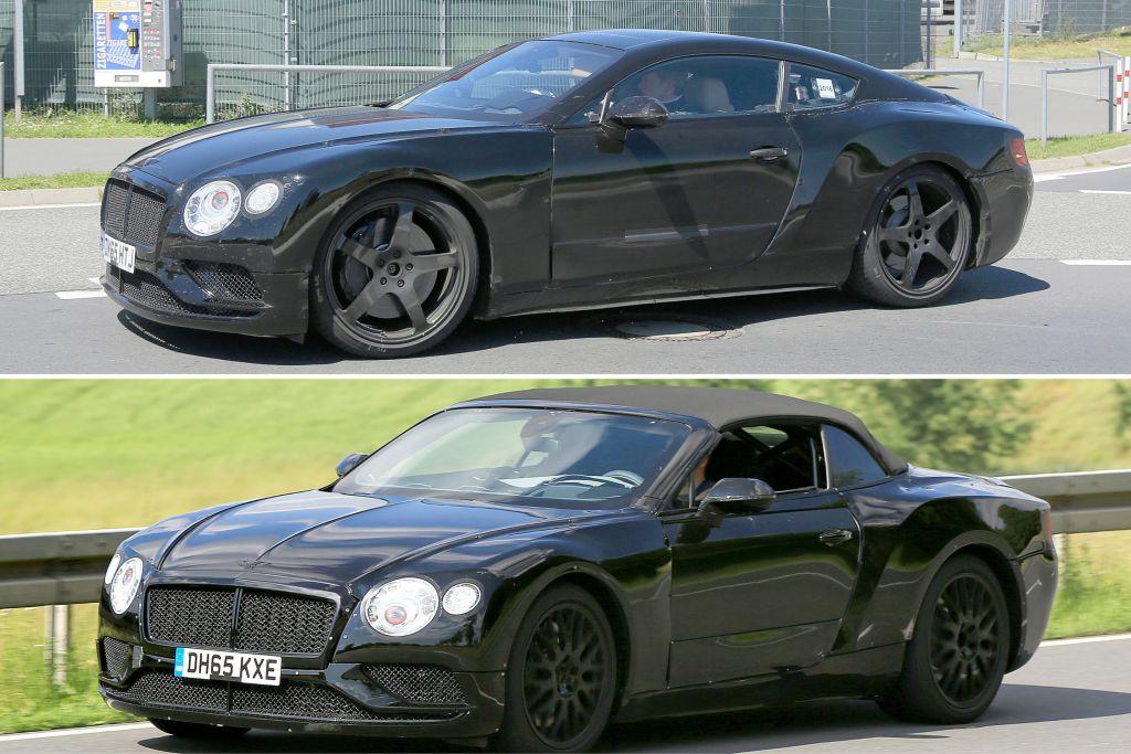Bentley Continental GT und GTC