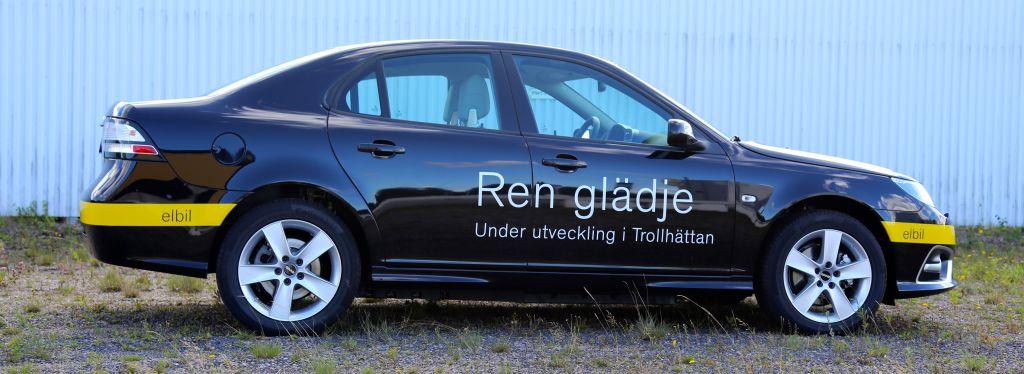 Saab 9-3 Electric Vehicle (Prototyp)