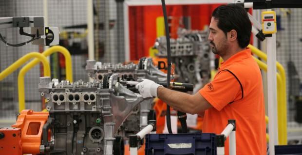 Produktion des 1,0-Liter-Ecoboost-Dreizylinder bei Ford