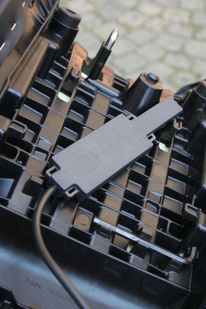 E-Call-System D-Guard für Motorräder: Sensor