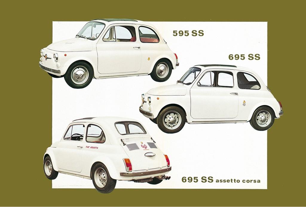 Historische Fiat Abarth.