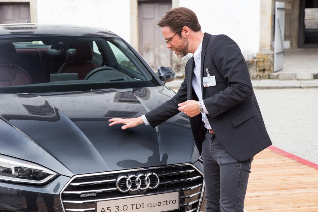 Stephan Fahr-Becker am Audi A5