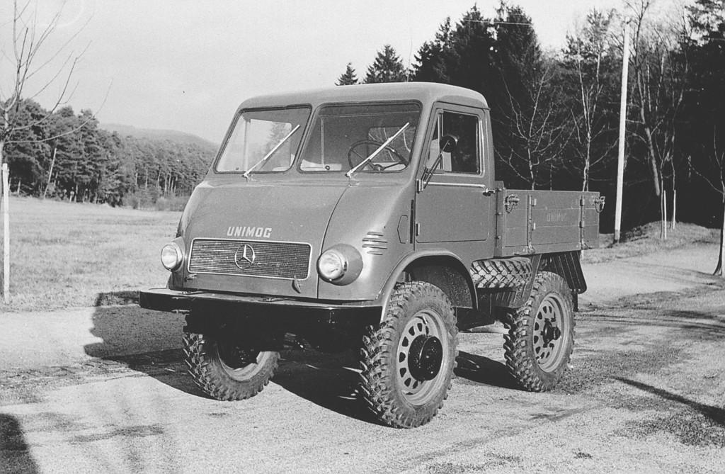 Mercedes-Benz Unimog mit Kabine von Westfalia-Werke, 1953
