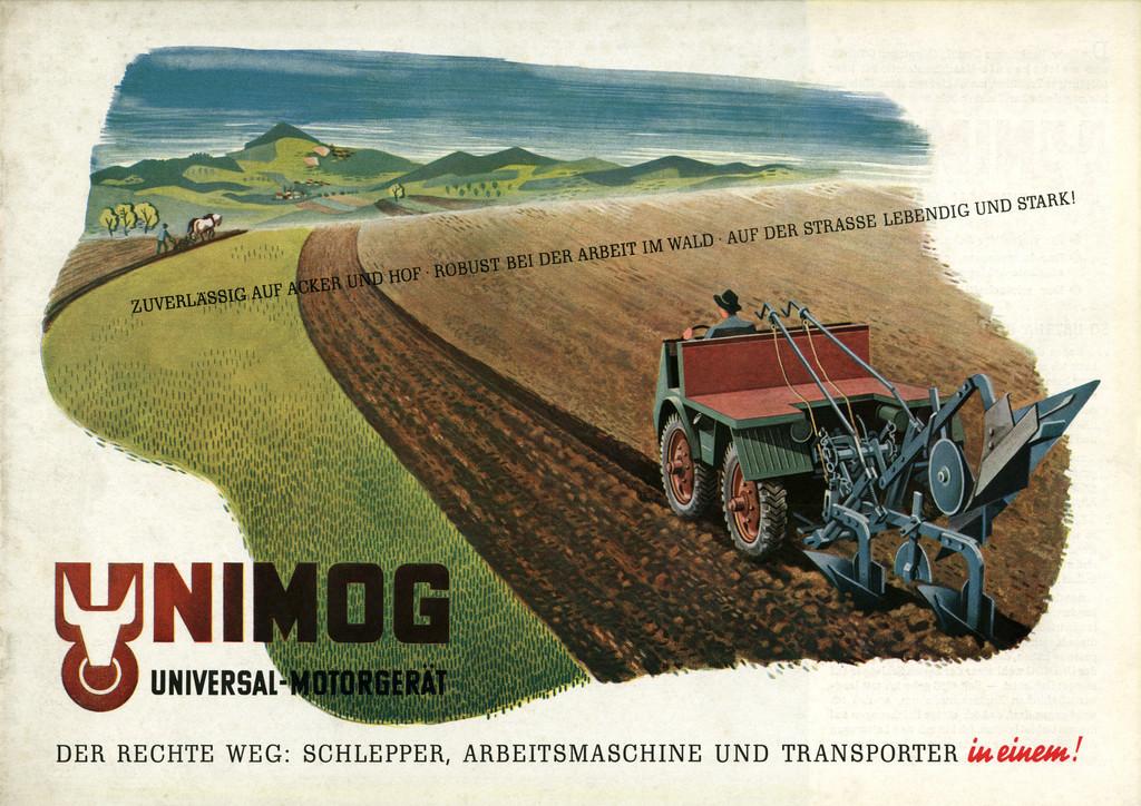 Unimog, 1946