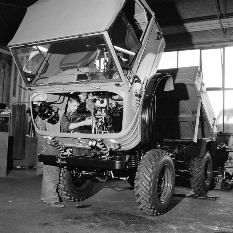 Mercedes-Benz Unimog, 1959