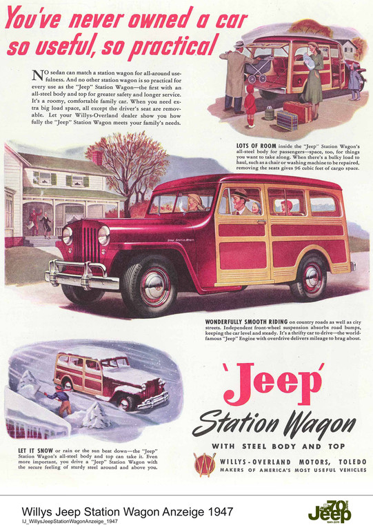 Jeep, 1947.