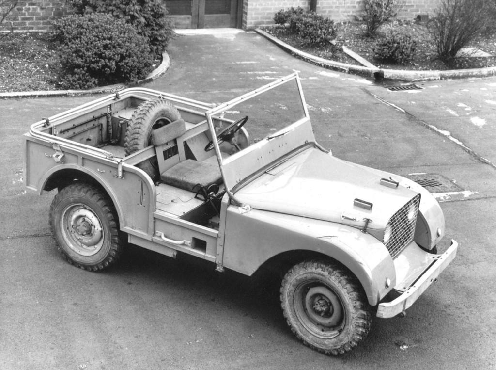 Land Rover, Prototyp, 1947