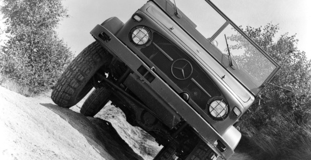Mercedes-Benz Unimog, 1956
