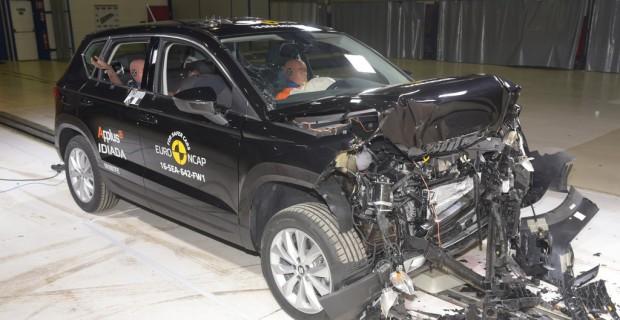 Seat Ateca im Euro-NCAP-Crashtest