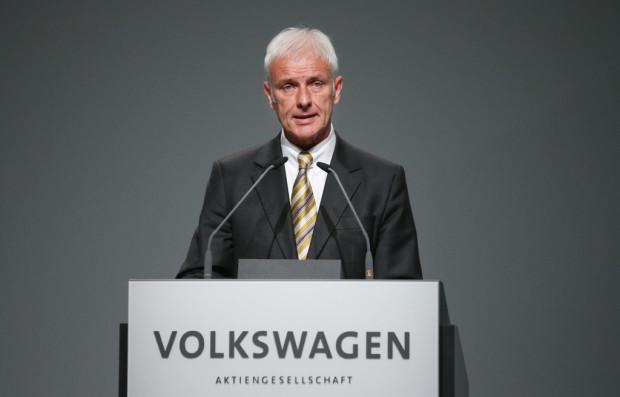 Volkswagen-Jahreshauptversammlung 2016: Konzernchef Matthias Müller