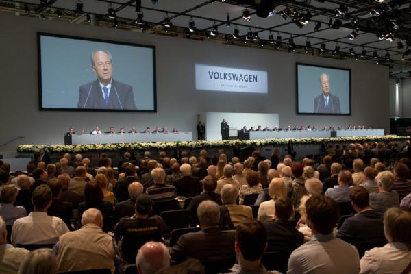 Volkswagen-Jahreshauptversammlung 2016
