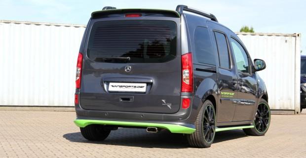 Mercedes-Benz Citan 111 CDI mit Tuningteilen von Vansports