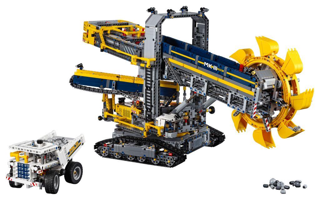LEGO-Technic-Schaufelradbagger