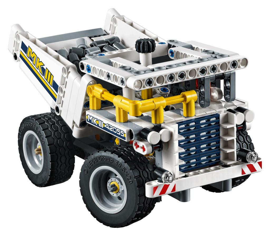 LEGO-Technic-Schaufelradbagger Muldenkipper Front