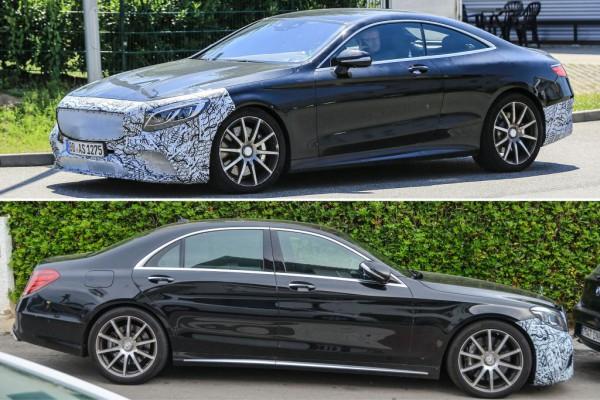 Facelift Mercedes-AMG S63 Coupé & Sedan