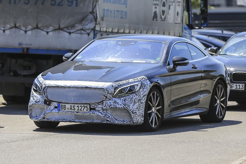 Mercedes S63 AMG Coupé Facelift